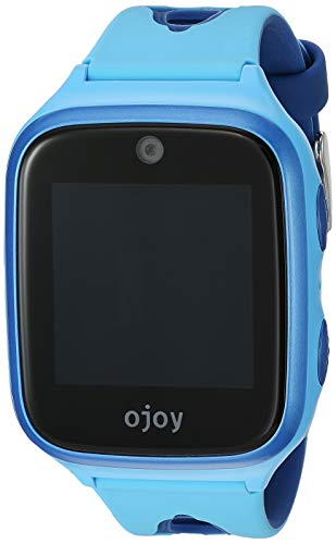 Ojoy [New Version] A1 Kids Smart Watch | Waterproof GPS Smart Watch for Kids | 4G LTE Chipset by Qualcomm Snapdragon | Safety Gizmo Watch | with iOS & Android App (Blue) - US Warranty