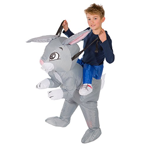 Bodysocks® Déguisement Lapin Gonflable Enfant