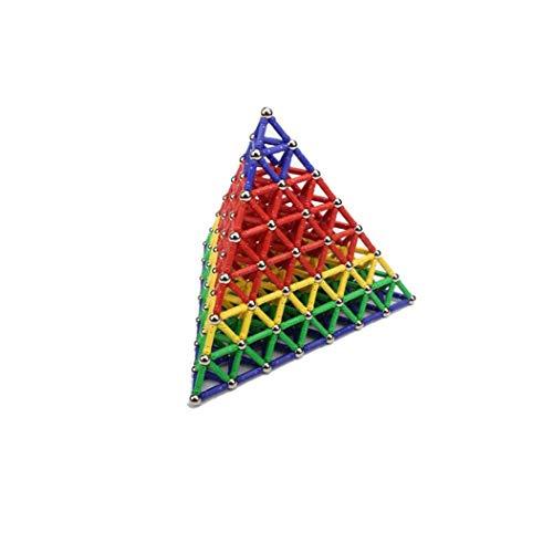 lulongyansf 157Pcs magnética Bloques de construcción Azulejos Creatividad de los niños de...