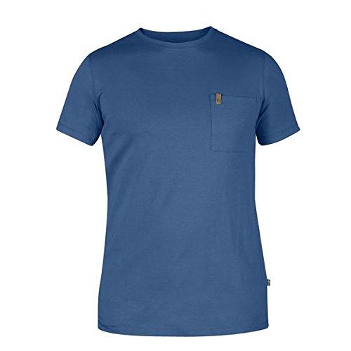 Fjallraven Övik Pocket T-Shirt Mens, Uncle Blue, M