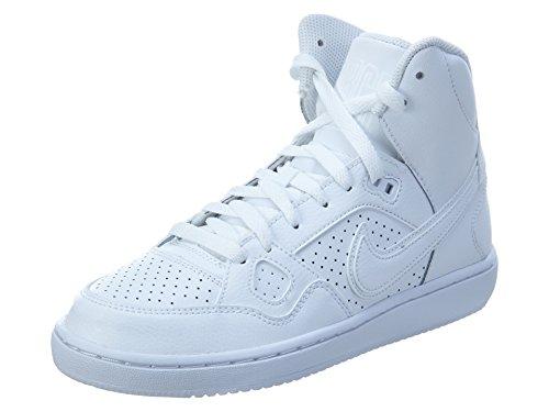 Nike Son of Force Mid (Kids), White / White-white, 5.5 Big Kid