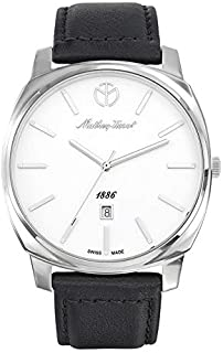 Mathey Tissot Smart Women's White Dial Leather Band Watch - D6940AI