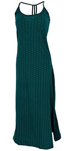 Guru-Shop - Vestido de verano largo para mujer, algodón, vestido de estilo bohemio, ropa alternativa