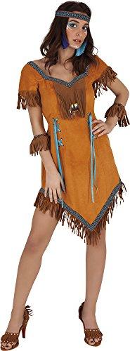 Rubie's S823 - Disfraz de India Cherokee, para Mujer, Talla única