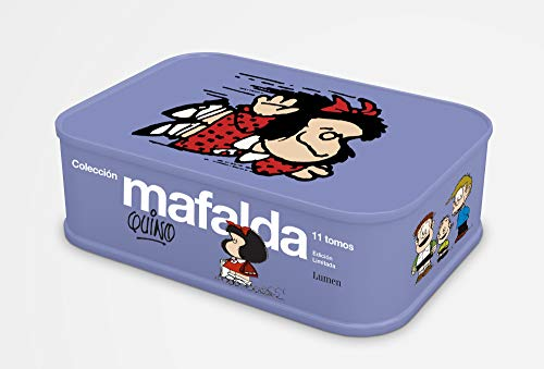 Colección Mafalda: 11 tomos en una lata (edición limitada) (Lumen Gráfica)