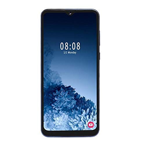 T angxi 2+16G 6.7' Smartphone, Water Drop Screen Dual Card Dual Standby Face ID 1300W Lens Smart Phone OS for Android 9.1 with 128G Memory Card(UK)