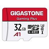 Gigastone Micro SD Card 32GB マイクロSDカード フルHD SD アダプタ付 ミニ収納ケース付 w/adaptor and case SDHC U1 C10 90MB/S 高速 micro sd カード UHS-I Full HD 動画