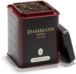 Pasticceria Passerini dal 1919 Darjeeling Supérieur G.F.O.P. Black Tea, from India, Tin of 100g / 3.52oz, Dammann Frères