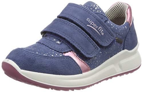 Superfit Mädchen Merida Gore-Tex Sneaker, Blau (Blau 80), 32 EU