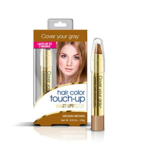 Cover Your Gray Hair Color Touch-Up Waterproof Medium Brown