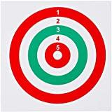 GearOZ Airsoft Target Papers for Pellet Trap Pellet Catcher Target Holder Target Practice Shooting Paper, Pack of 100