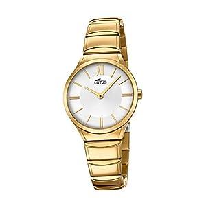 Lotus Minimalist 18489/1 Reloj de Pulsera para mujeres Momento Estelar de Diseño
