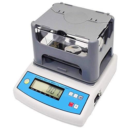 MaquiGra Medidor Eléctrico Digital de Densidad Densímetro Profesional de Alta Precisión para Líquido Sólido y Polvo Rango de medición 0.005g~ 300g precesión 0.001 g/cm3