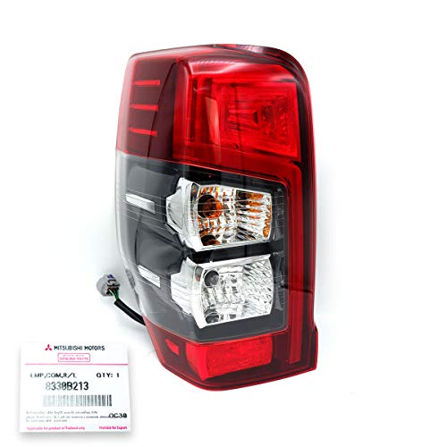 Nonstops LH LED Tail Lamp Light Red Clear for Mitsubishi L200 Triton MR 4WD Truck Pick-Up 2019