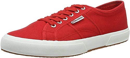 Superga 2750 Cotu Classic, Zapatillas Unisex, Multicolor (Rojo/Blanco), 39 EU (5.5 UK)
