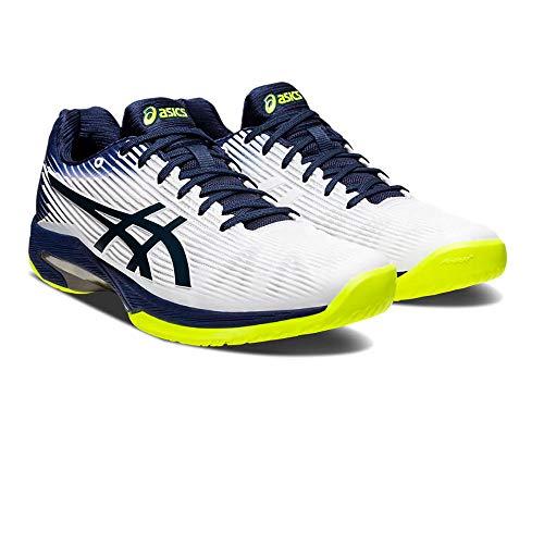 ASICS 1041A003-104-9, Zapatillas de Running Hombre, Blanco, 42.5 EU