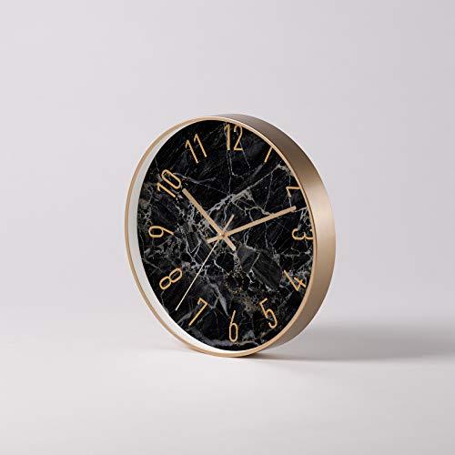 Einfache Wohnzimmeruhr Kreative Persönlichkeit Atmosphärisches Zuhause Quarzuhr stille Zeitraffer elektronische Uhr Uhr Uhr Uhr, 10 Zoll, Art Series (Big Age B)