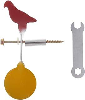 PQZATX Fileur Tir /à la Cible Chasse /à la Cible Cible Viss/éE en Acier Cible de Plinking Pigeon