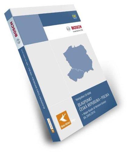 TeleAtlas Blaupunkt Tschechien/Polen 2009/2010 DX mit Hauptverkehrsstrassen Europas für TravelPilot DX-Plattform