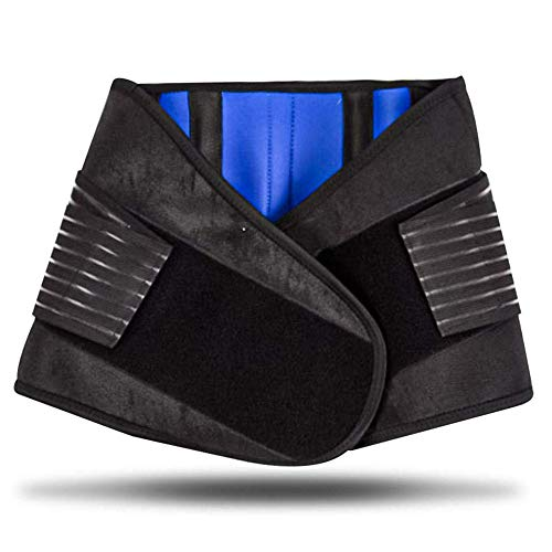 XINXIN Rückenbandage Lendenwirbel Rückengurt mit Stützstreben Rückenstützgürtel Fitnessgürtel Verstellbare Zuggurte Rückenstütze für Herren Damen, Lindert Schmerzen und Beugt Verletzungen,6XL