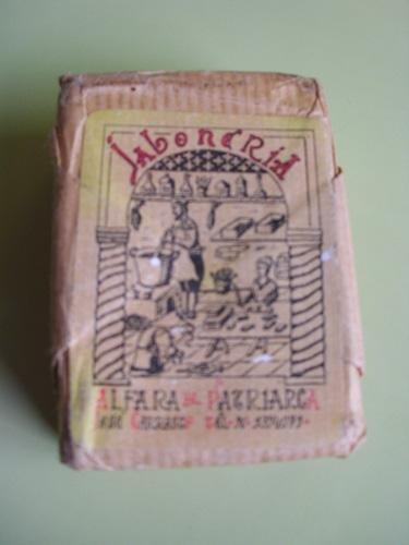 Pastilla de Jabón : JABÓN NATURAL DE ACEITE DE COCO - Jabonería Alfara del Patriarca