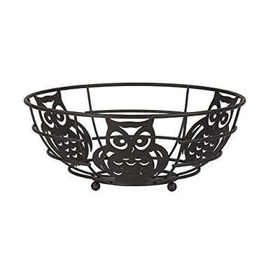 Home Basics Owl Fruit Bowl