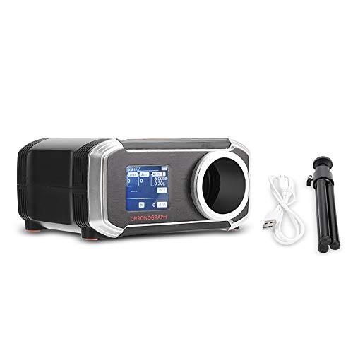 Suchinm Geschwindigkeiten Tester, LCD-Display Bluetooth Chronograph BB Geschwindigkeiten Tester für Outdoor-Wasserball Stahlkugel Geschwindigkeiten Tester