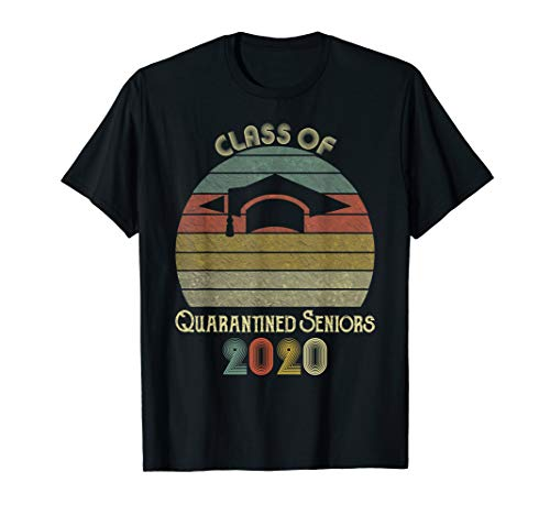 Seniors 2020 Class of the Quarantined Gifts T-Shirt