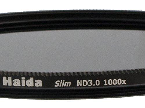 Slim grijs filter ND1000-37mm bijv. voor Olympus Pen Pro Lens Cap met interne greep
