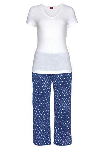 s.Oliver Damen Capri-Pyjama