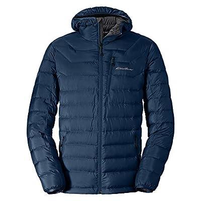 Eddie Bauer Men's Downlight Hooded Jacket, Med Indigo Regular M from Eddie Bauer
