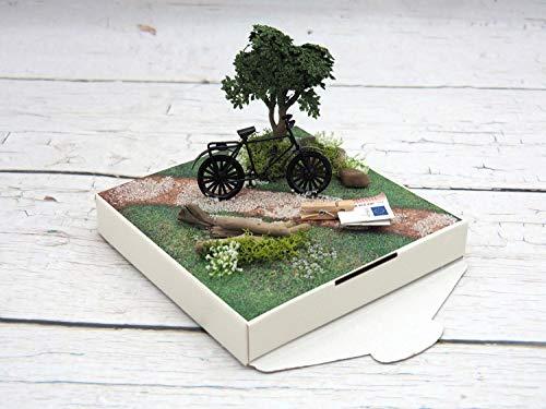 ZauberDeko Geldgeschenk Verpackung Geldverpackung Fahrrad Urlaub Weihnachten Geburtstag Mann - 8
