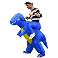 Huayuarts Men's Inflatable Costume Boys Ride Dinosaur