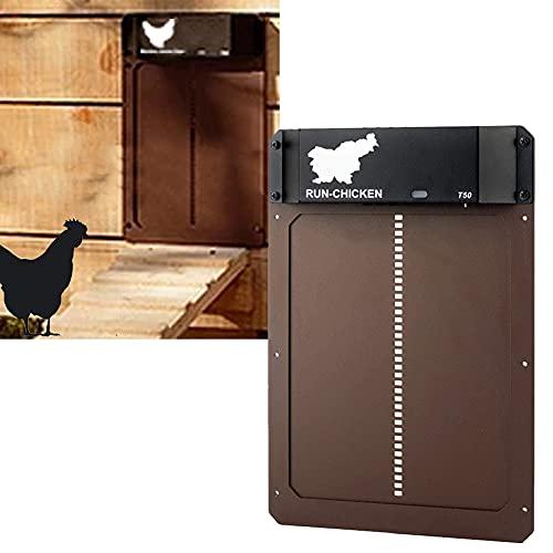 DERMASENS Piccola Porta Automatica per pollaio con...