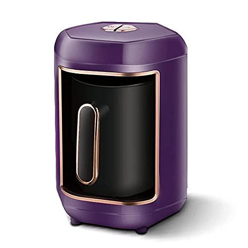 DAGUAI Máquina automática de cafetera turca Máquina de café eléctrico inalámbrico Cafeta de Alimentos Moka Moka Tetera de café Portátil Viajes (Color : C)