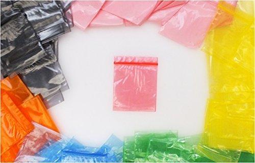 Lizzy® 100x Farbige Druckverschlussbeutel rot