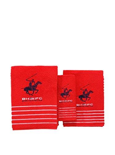 Beverly Hills Polo Club California, Algodón, Rojo, Unico