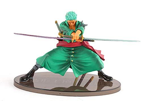 Anime Skulptur Figura Modelo Anime One Piece Dos años después Roronoa Zoro. En Caja Alto 14 cm