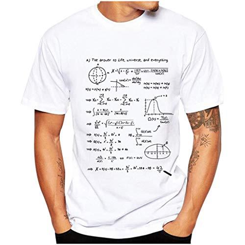 serliy😛Definition Sommer Herren Baumwolle T-Shirt lustige Brief drucken Kurzarm kreative Grafik lässig Oansatz T für Häuser im Freien