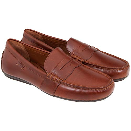 Polo Ralph Lauren Reynold-SO-DRV Men's Polo Tan Shoes Size 12