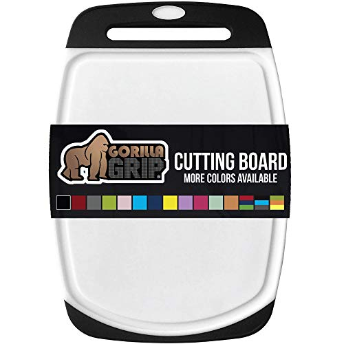 Gorilla Grip Original Oversized Cutting Board, Perfect for the Dishwasher, Non Porous