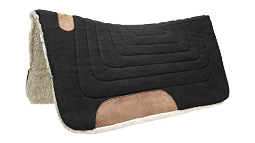 Tahoe Tack Contoured Canvas Western Saddle Pad Available in Mini Pony and Horse Sizing