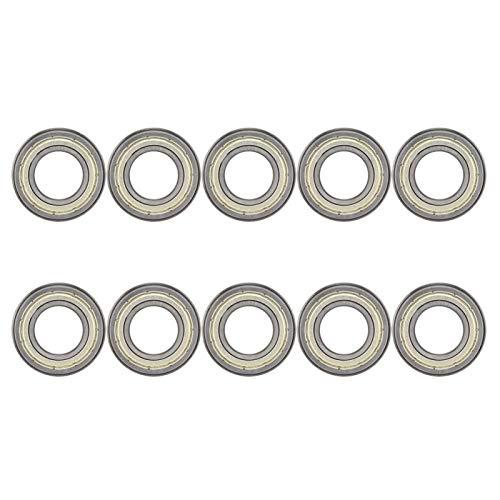Rodamiento de bolas de ranura profunda Accesorios mecánicos Rodamiento de brida de rodamiento de usos múltiples para electrodomésticos(F6904ZZ)