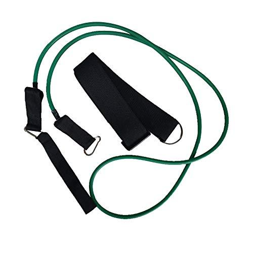 ABOGALE Schwimm-Bungee-Trainingsgürtel, 2 M Schwimmfallschirm Schwimmtrainer-Leine Für Stationäres Training Mobiles Gegenstromsystem(BK1)