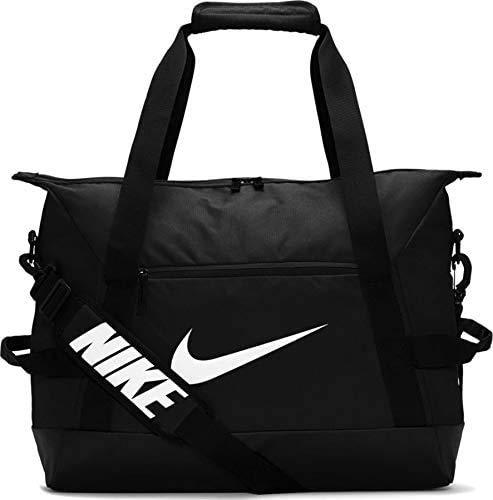 Nike NK ACDMY Team S DUFF-SP20 Gym Bag, Black/Black/(White), MISC