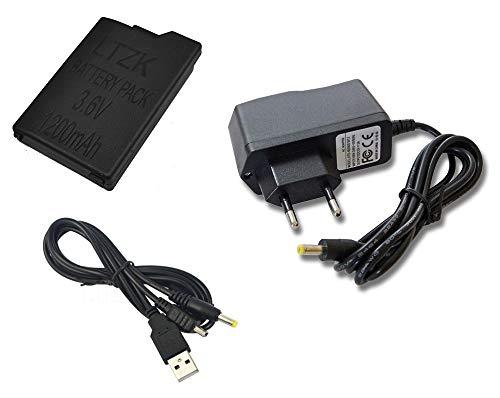 Link-e - Set di accessori compatibili con la console Sony PSP 2000/3000