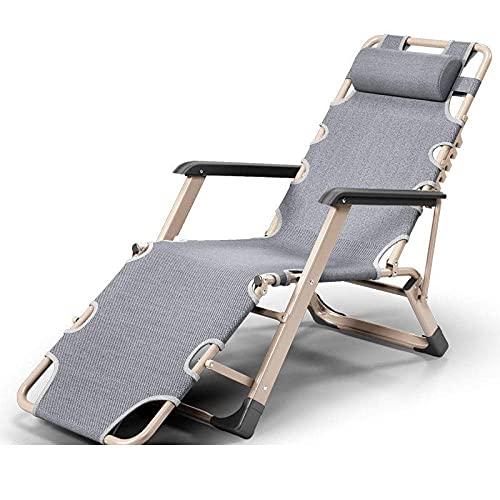 WGFGXQ Swimming Pool Recliner,Zero Gravity Reclining Chair, Lounge Chair Recliner Chair Sun Chair Folding Chair Garden Chair Sun Lounger-1