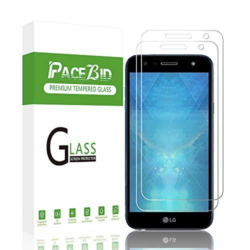 PaceBid [2 Stück Panzerglas Schutzfolie Kompatibel mit LG X Power 3, Tempered Glass [9H Festigkeit][Anti-Fingerabdruck][Ultra-klar] Panzerglasfolie Bildschirmschutzfolie Für LG X Power 3