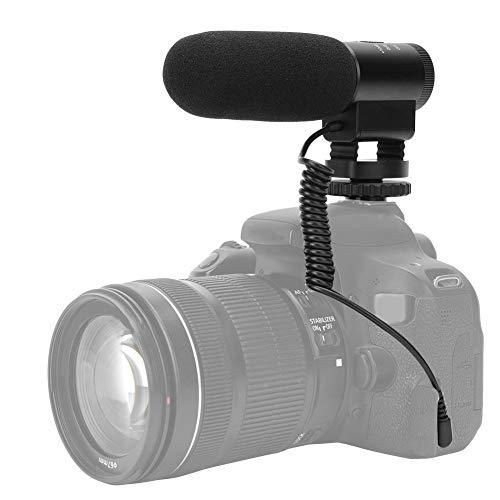 Jarchii 【2021 Promoción de año Nuevo】 Cámara Micrófono Micrófono Durable Cómodo de Usar para Evitar Grabar Sonidos de colisión Durante el Movimiento o el Funcionamiento