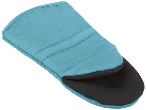 Ritz Royale Collection Cotton Puppet Oven Mitt with Neoprene, 13-Inch, Ocean